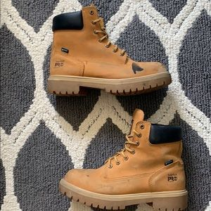 Timberland Steel Toe Boots Size: 11